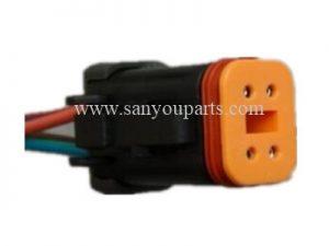 SY KE018 PC200 7 油门马达对插插头4线 300x225 - PC200-7 Trottle Motor plug(4 Line)