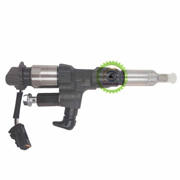J08 Injector 095000-6593 Injector For Kobelco Machine