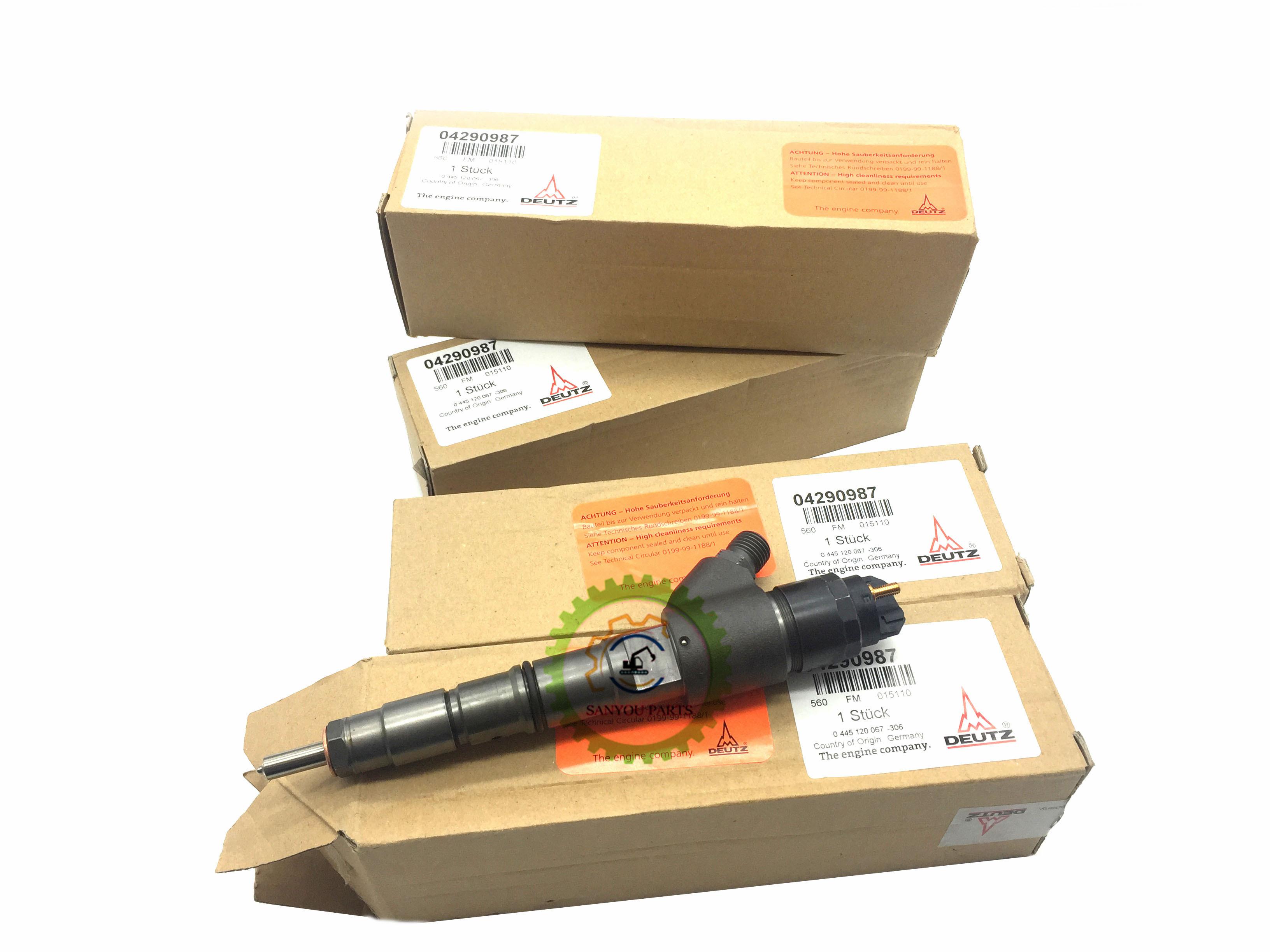 NC FJ10 EC210 fuel injector 04290987 - Home