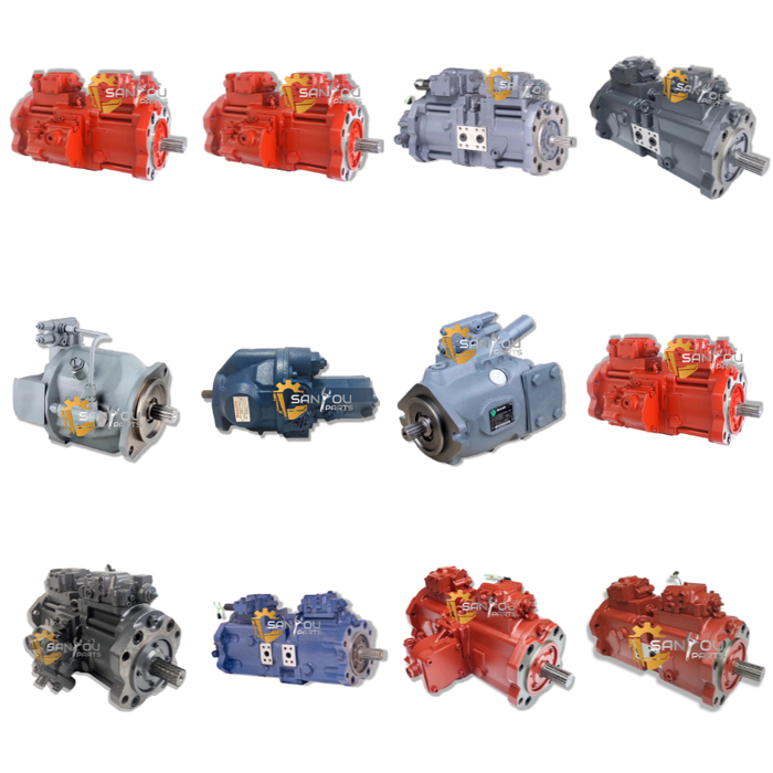 hydraulic pump for excavator - Home